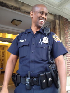 """Me: """"Do you have any secret talents?"""" Officer Johnson: """" I may but I dont really know what they are."""""""