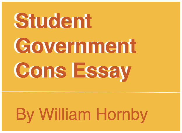 essay about student government To really make a dent in student debt, the government will have to act federal solutions to our student loan total student loan debt in our country is $13.